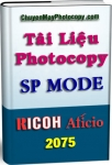 SP Mode Photocopy Ricoh Aficio 2075 - Service Program Mode