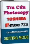 Setting Mode Photocopy Toshiba e-Studio 723 / E723