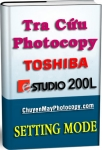 Setting Mode Photocopy Toshiba e-Studio 200L / E200L