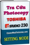 Setting Mode Photocopy Toshiba e-Studio 230 / E230