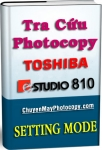 Setting Mode Photocopy Toshiba e-Studio 810 / E810