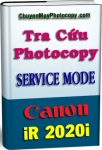 Service Mode Photocopy Canon iR 2020i - Tiếng Việt