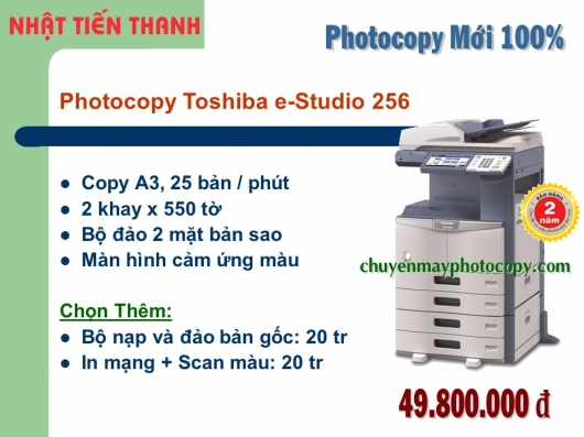 May Photocopy Toshiba e-Studio 256