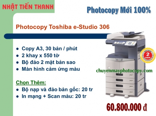 May Photocopy Toshiba e-Studio 306